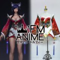 League of Legends Cinematic A New Dawn Ahri Cosplay Costume