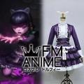 League of Legends Goth Annie Skin Cosplay Costume (Female M)