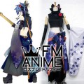 [Display] Vocaloid Kaito Fleeting Moon Flower Cosplay Costume