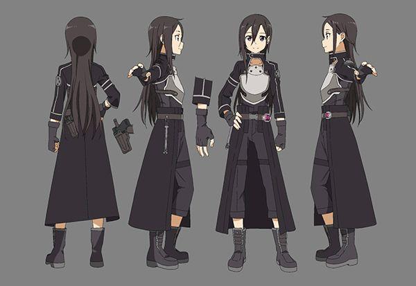 Sword Art Online 2 SAO GGO Kirigaya Kazuto Kirito Cosplay Costume Clothing