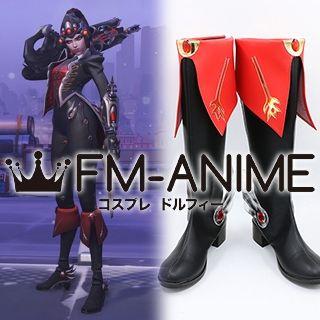 Overwatch Widowmaker Huntress Skin Cosplay Shoes Boots