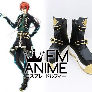 Idolish7 Riku Nanase The Planet of Steel, Lama! Cosplay Shoes Boots