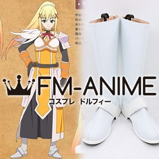 KonoSuba: God's Blessing on this Wonderful World! Darkness Cosplay Shoes Boots