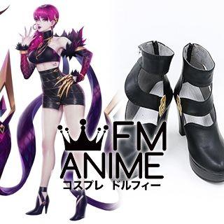 League of Legends K/DA Evelynn Virtual K-pop Band Cosplay High-heel shoes
