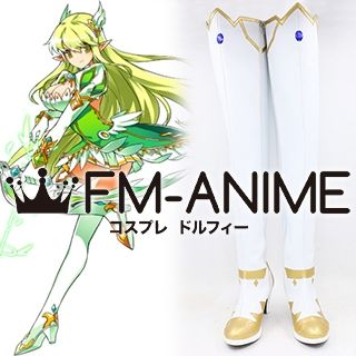 Elsword Rena Erindel Grand Archer Cosplay Shoes Boots
