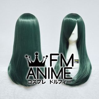 60cm Pageboy Dark Green Cosplay Wig