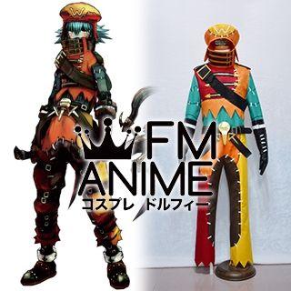 .Hack//G.U. Last Recode Tri-Edge Azure Flame Kite Cosplay Costume