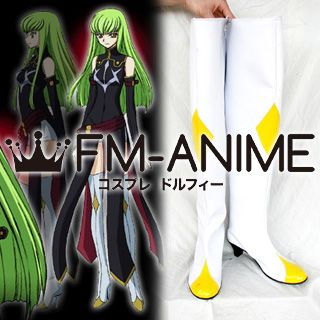 Code Geass: Lelouch of the Rebellion R2 C.C. Cosplay Shoes Boots