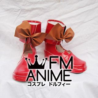 Macross Frontier Ranka Lee Cosplay Shoes Boots