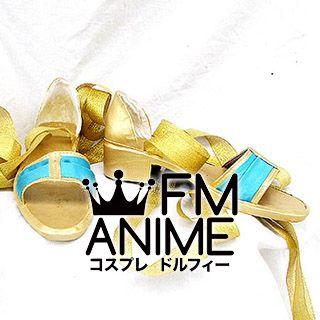 Harukanaru Toki no Naka de 4 Chihiro Ashihara Cosplay Shoes (Gold)