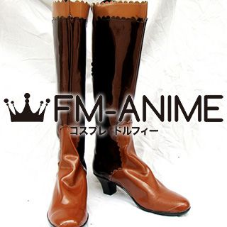 Final Fantasy X-2 Lenne Cosplay Shoes Boots
