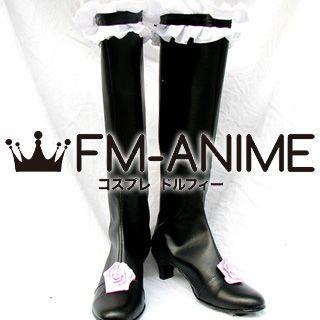 Rozen Maiden Suigintou Cosplay Shoes Boots