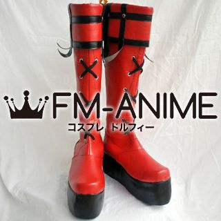 Guilty Gear Sol Badguy Cosplay Shoes Boots