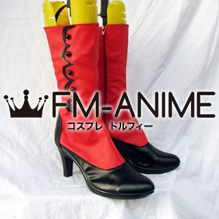 Black Butler Angelina Dalles / Madame Red Cosplay Shoes Boots