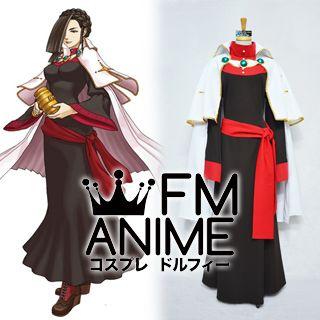 Ace Attorney Investigations: Miles Edgeworth Hakari Mikagami Cosplay Costume