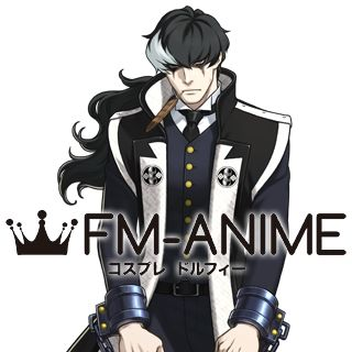 Ace Attorney Simon Blackquill Cosplay Wig