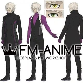 AI: The Somnium Files Date Kaname Cosplay Costume