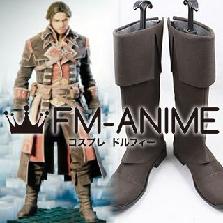 Assassin's Creed: Unity Arno Dorian Shay's Master Templar Outfit Cosplay Shoes Boots