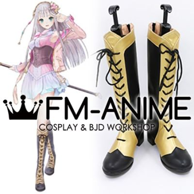 Atelier Lulua: The Scion of Arland Elmerulia Frixell Lulua Cosplay Shoes Boots