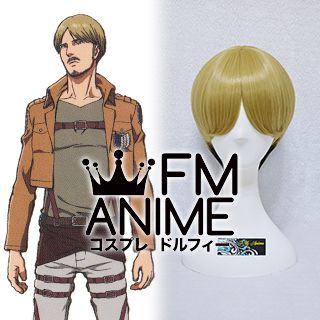 Attack on Titan Mike Zacharias Cosplay Wig