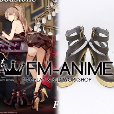 Azur Lane Jean Bart Uninhibited Bloodstone Cosplay Shoes