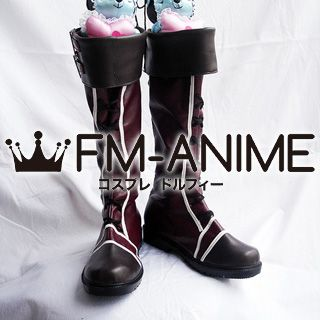 Vocaloid Kagamine Rin & Len Romeo and Cinderella Cosplay Shoes Boots