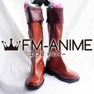 Hakuoki Todo Heisuke Cosplay Shoes Boots