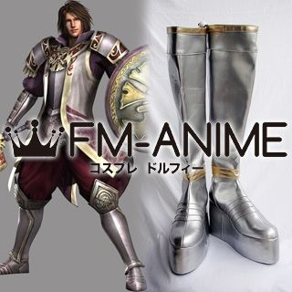 Samurai Warriors Muneshige Tachibana Cosplay Shoes Boots