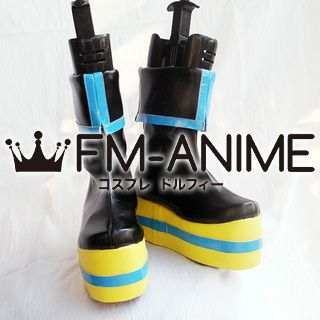 Vocaloid Hatsune Miku Project Diva Chou Kimono Cosplay Shoes Boots