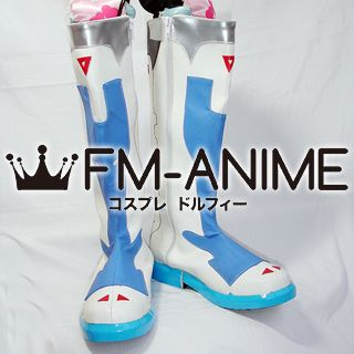 Vocaloid Kaito Project DIVA Arcade Cosplay Shoes Boots