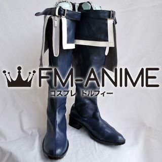 Black Rock Shooter Cosplay Shoes Boots (2012 Anime Version)