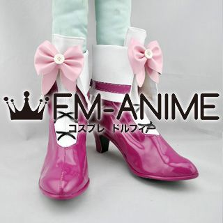 Suite PreCure Hibiki Hojo (Cure Melody) Cosplay Shoes Boots
