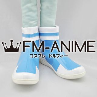 Powerpuff Girls Z Bubbles Cosplay Shoes Boots