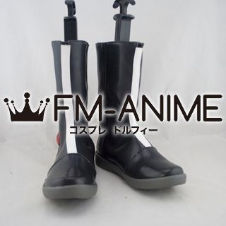 Guilty Crown Inori Yuzuriha Cosplay Shoes Boots (Funeral Parlor Costume)