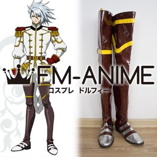 Ixion Saga DT Erecpyle Dukakis Cosplay Shoes Boots (ED)