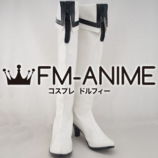 White Rock Shooter Cosplay Shoes Boots