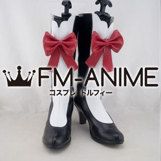 Shining Hearts Rona Cosplay Shoes Boots