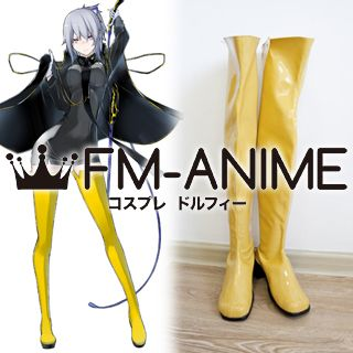 Shin Megami Tensei: Devil Survivor 2: Break Record Miyako Hotsuin Cosplay Shoes Boots