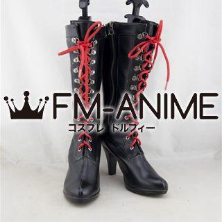 Danganronpa: Trigger Happy Havoc Junko Enoshima & Mukuro Enoshima Cosplay Shoes Boots