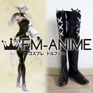 Final Fantasy XIV Elezen (Female) Cosplay Shoes Boots