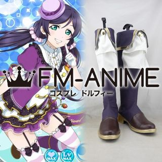 Love Live! Nozomi Tojo Cosplay Shoes Boots