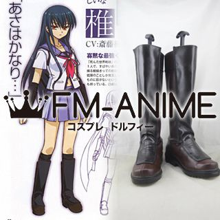 Angel Beats! Shiina Eri Cosplay Shoes Boots