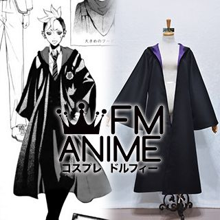 Black Butler Cheslock Purple Weston College School Uniform Coat Cloak Cosplay Costume