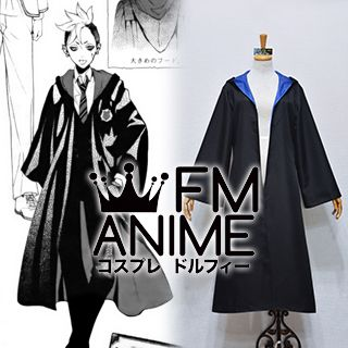 Black Butler Ciel Phantomhive Weston College School Uniform Coat Cloak Cosplay Costume (Female L)