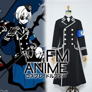Black Butler II Ciel Phantomhive Dojin Military Uniform Cosplay Costume