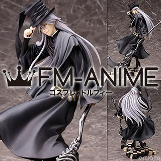 Black Butler Undertaker Cosplay Wig
