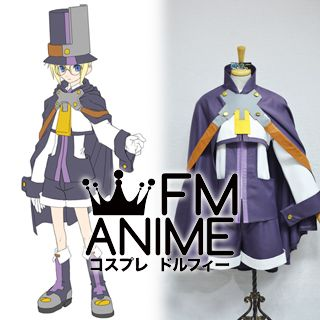 BlazBlue Carl Clover Cosplay Costume