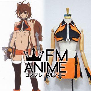BlazBlue Makoto Nanaya Cosplay Costume