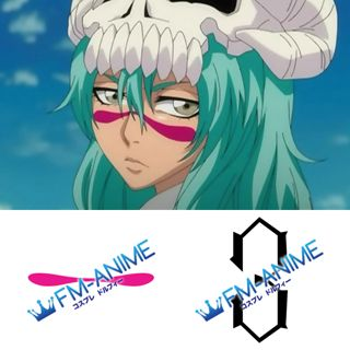 Bleach Nelliel Tu Odelschwanck Cosplay Tattoo Stickers