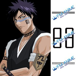 Bleach Shuhei Hisagi Cosplay Tattoo Stickers